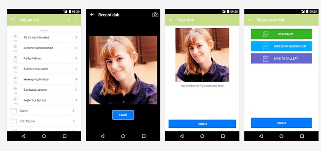 Dubsmash Android Apps on Google Play