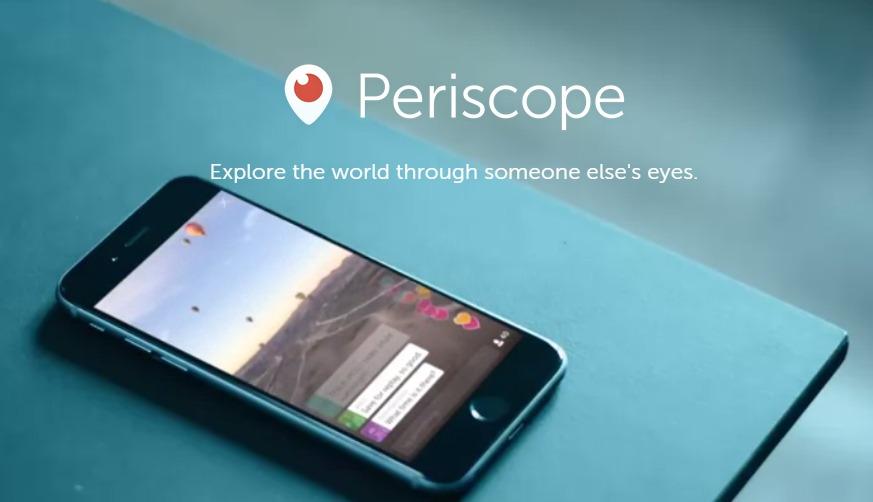 Periscope: تطبيق جديد من تويتر للبث المباشر للفيديو - صدى التقنية