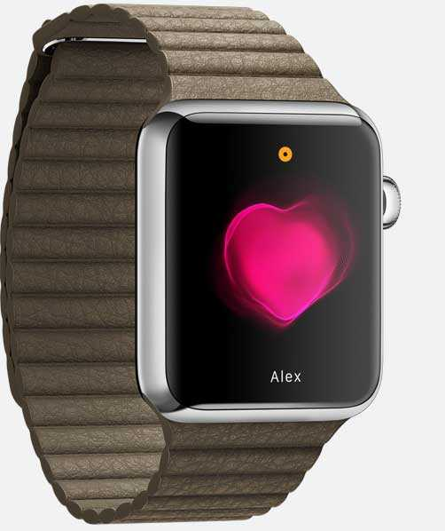 يمكنك إرسال تقارير من ساعة أبل Apple Watch عن نشاط قلبك إلى أجهزة أخرى