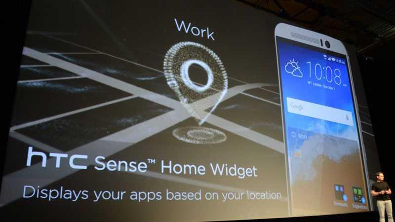 يعمل HTC One M9 بنظام التشغيل أندرويد 5.0 المعروف باسم أندرويد لولي بوب مع إصدار جديد من واجهة Sense 7