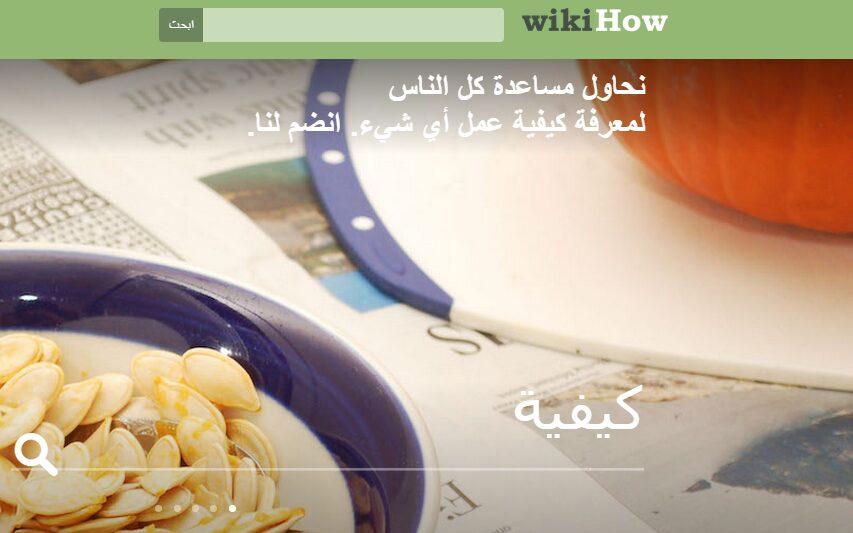 ويكي هاو wikihow