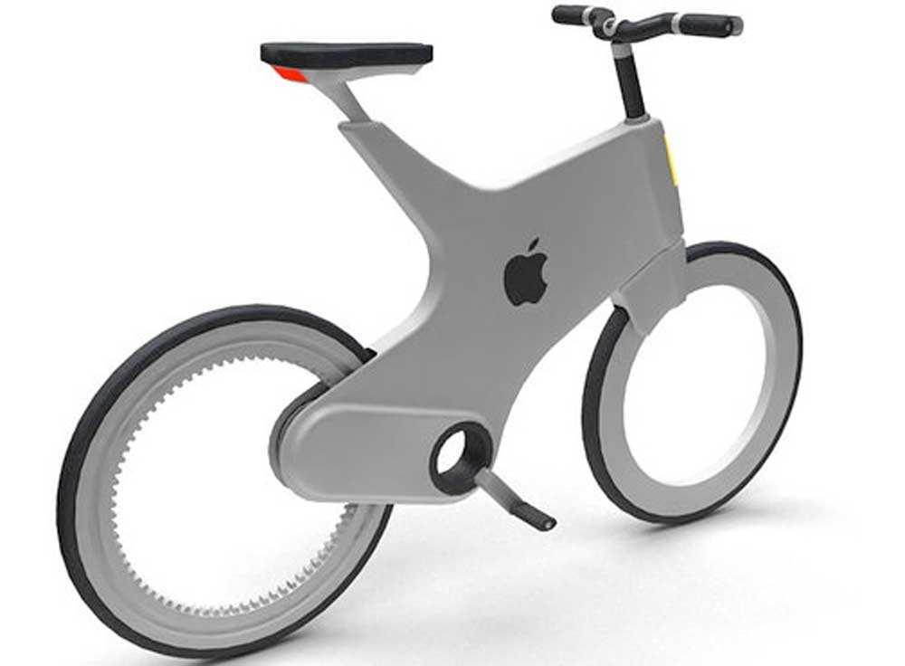 تصور لـ دراجة أبل الذكية