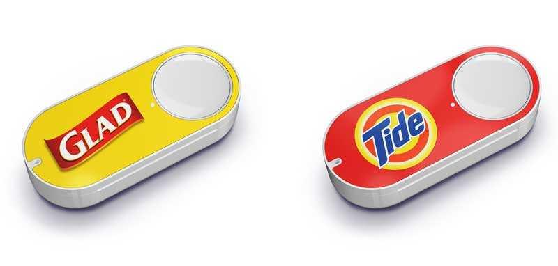 Dash Button زر من أمازون لطلب المنتجات بضغطة واحدة