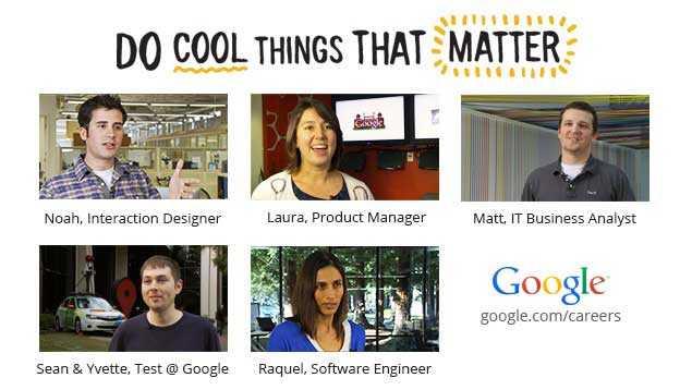 أعلى وظائف جوجل أجرا في 2015
