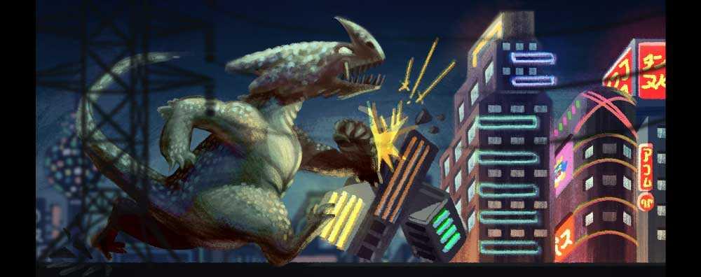 Eiji Tsuburaya شارك في صناعة شخصية Godzilla