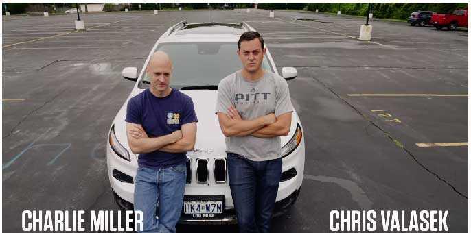 هاكرز ينجحون في اختراق سيارة جيب شيروكي