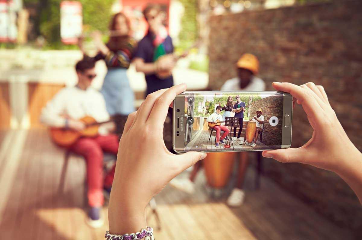 كاميرا جالاكسي اس 6 ايدج بلس