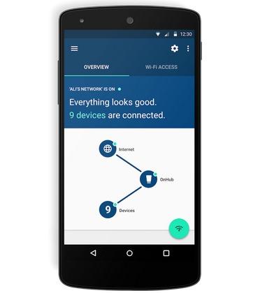OnHub تطبيق
