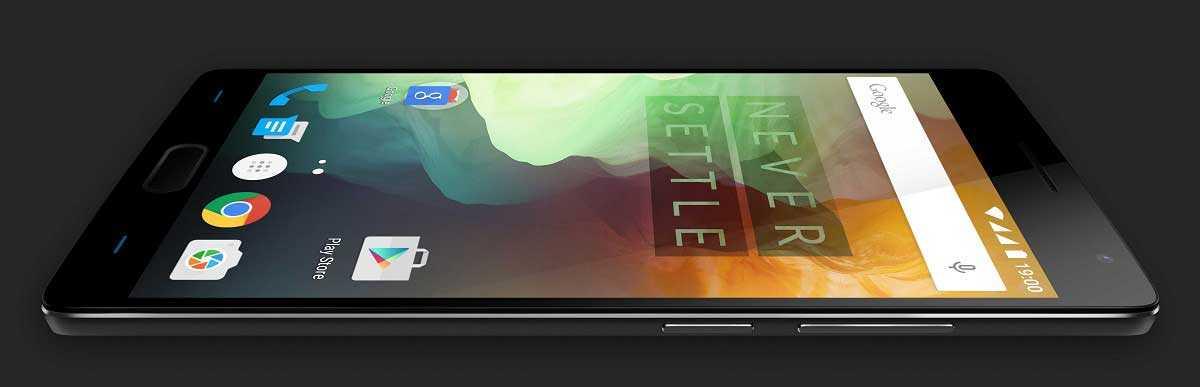 يحمل OnePlus 2 وان بلس 2 شاشة مصنوعة بتقنية IPS LCD قياسها 5.5 بوصة