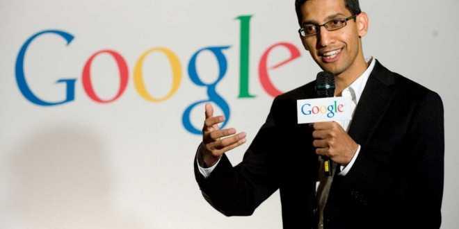 ساندر بيتشاي الرئيس التنفيذي لشركة جوجل