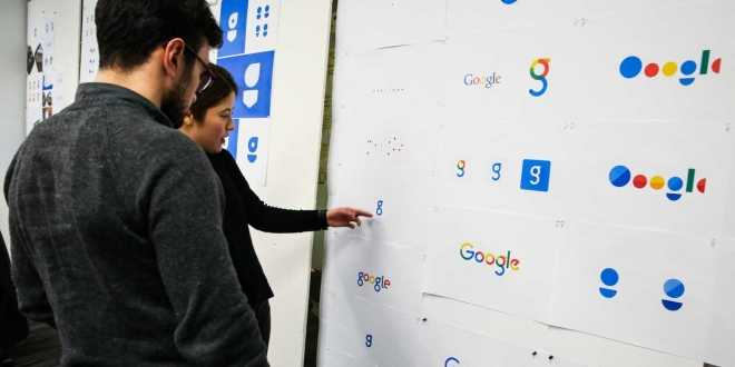 تاريخ شعار Google