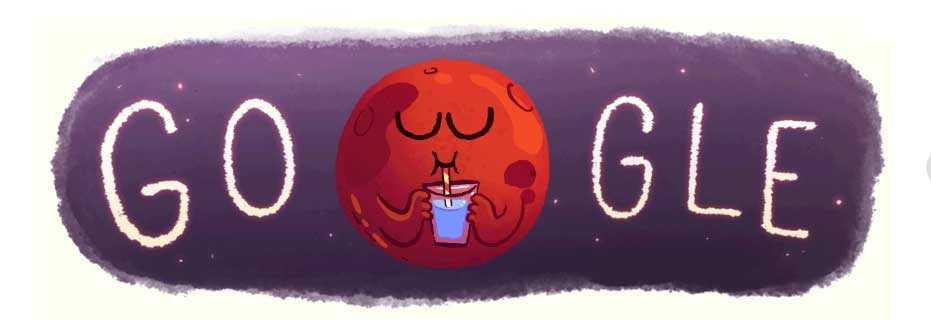 google-water-mars-doodle