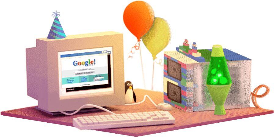 عيد ميلاد google جوجل الـ 17