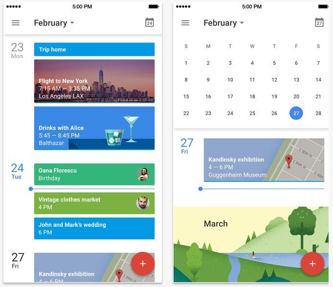 تقويم جوجل Google Calendar