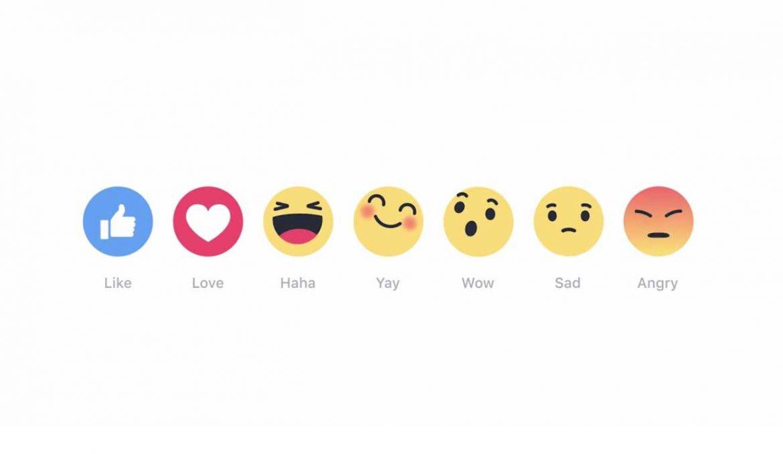 زر لايك الجديد like reactions