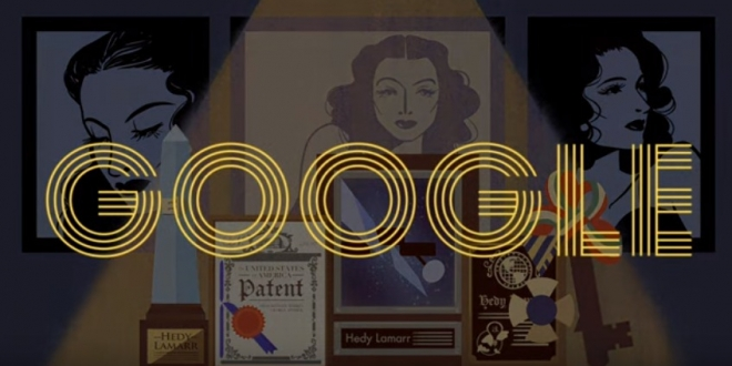 Hedy Lamarr s 101st Birthday
