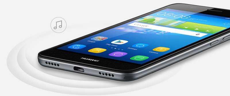 Huawei-y6-speakers