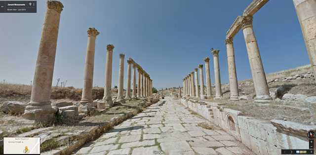 من الأماكن الأثرية في الأردن