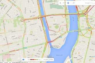 google-maps-cairo-traffic