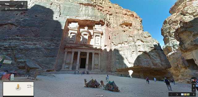 يمكن الآن استعراض عشرات الأماكن الأثرية في الأردن عبر الإنترنت