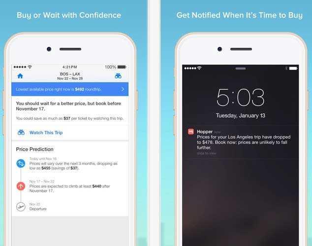 Hopper---Airfare-Predictions-on-the-App-Store