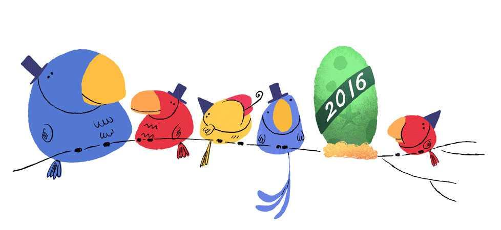 احتفال جوجل بمناسبة ليلة رأس السنة 2015