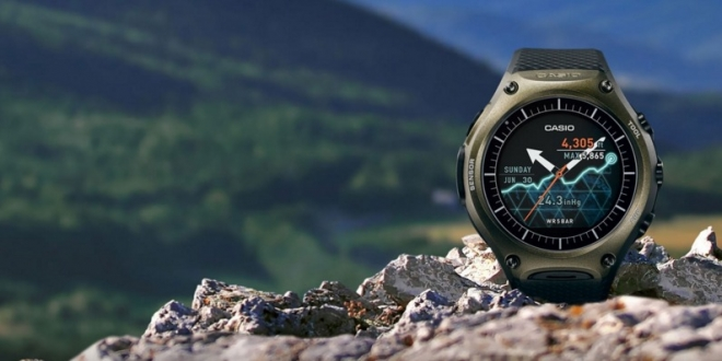 Casio s outdoor smartwatch