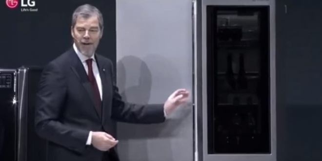 LG Signature Refrigerator At CES 2016