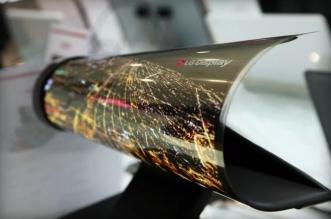 إل جي تعرض شاشة كبيرة قابلة للطي كصحيفة ورقية