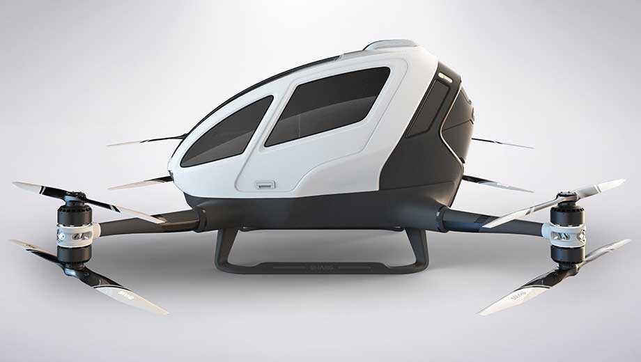شركة صينية تكشف عن سيارة طائرة