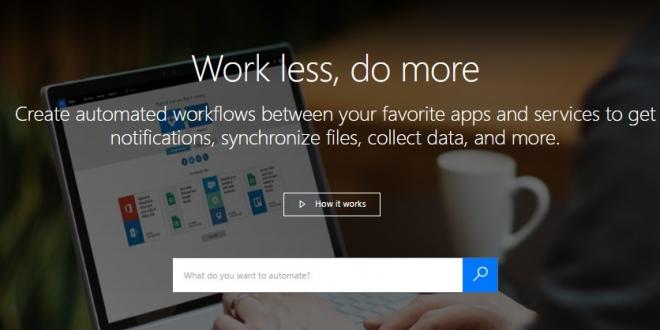 "Microsoft Flow: خدمة جديدة منافسة لـ ""IFTTT"""