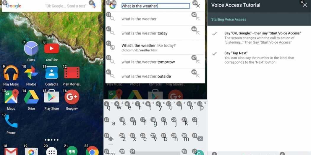 Voice Access: تطبيق جديد من جوجل يتيح التحكم صوتيا في الهاتف
