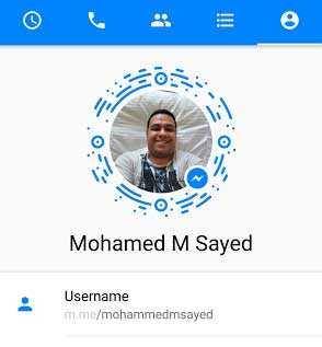 رابط-ورمز-خاص-في-ماسنجر-messenger
