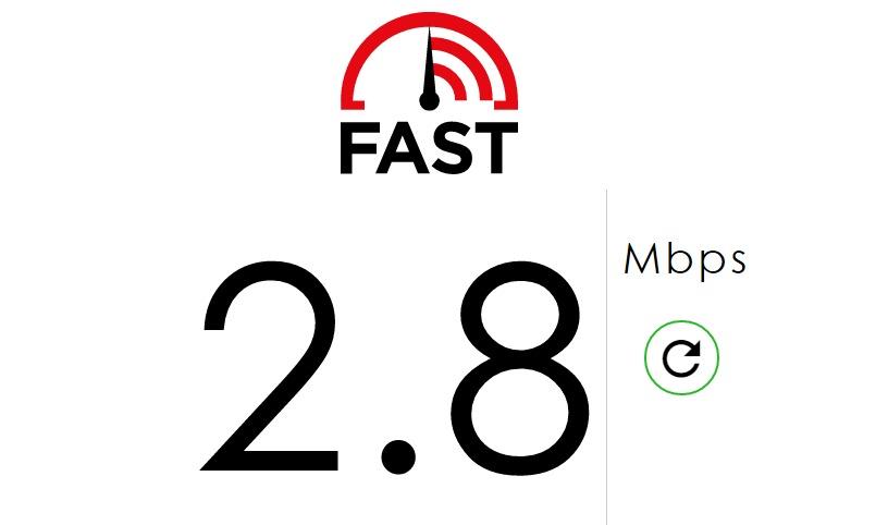 Internet Speed Test Fast com