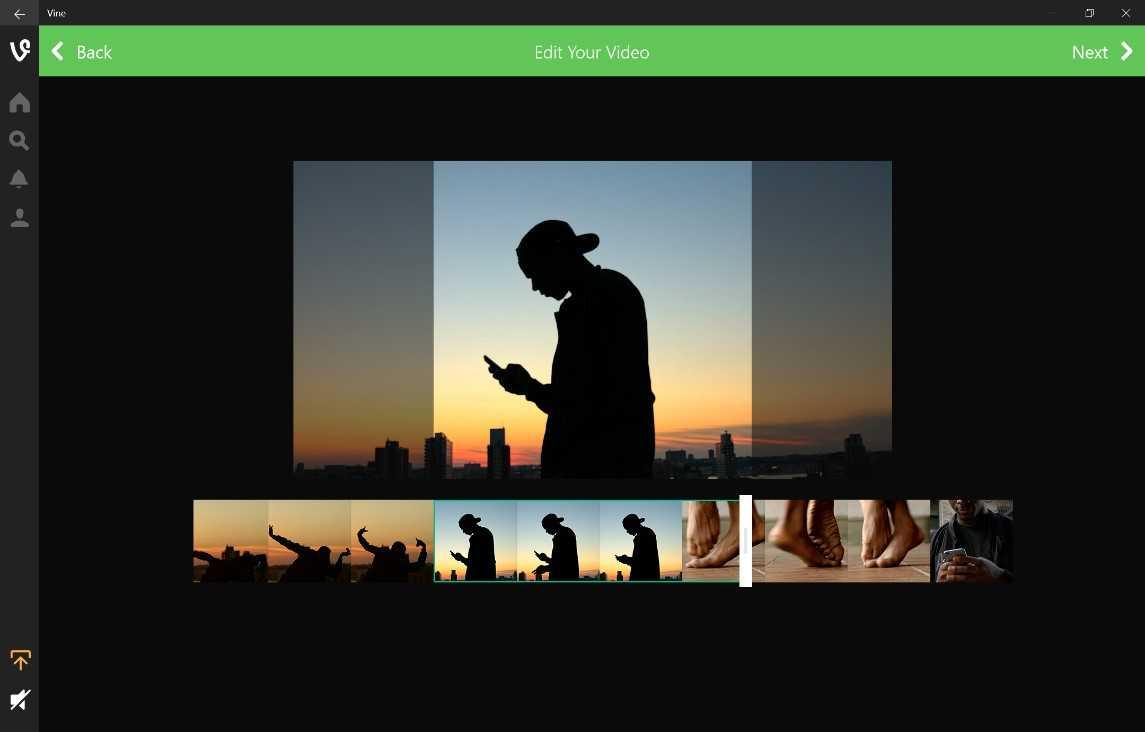 يحمل تطبيق Vine لأجهزة ويندوز 10 جميع المميزات التي يحتاجها المستخدم