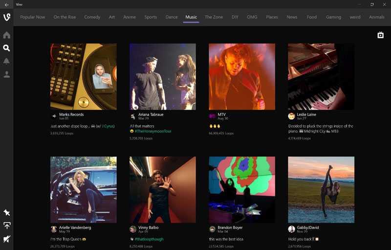 تطبيق Vine متوفر الآن لأجهزة الكمبيوتر