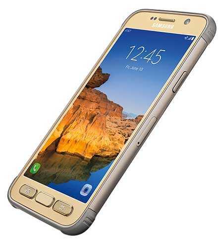 Galaxy S7 active باللون الذهبي