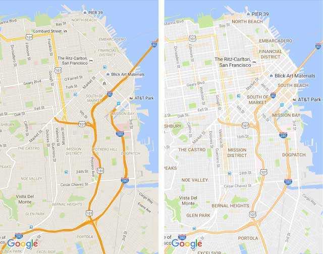 جوجل maps