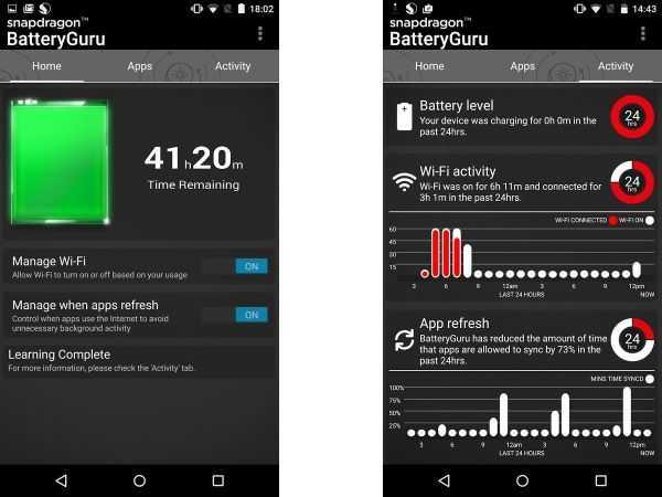 Snapdragon Battery Guru