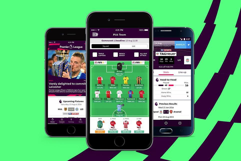 تطبيق الدوري الإنجليزي الرسمي متوفر الآن لهواتف أندرويد وآيفون