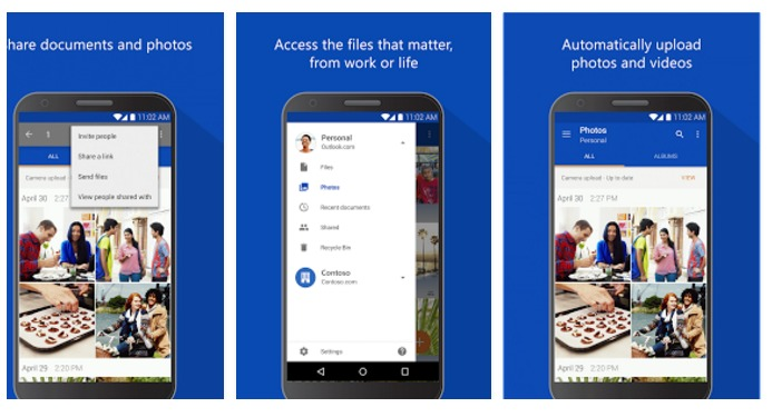Microsoft OneDrive Android