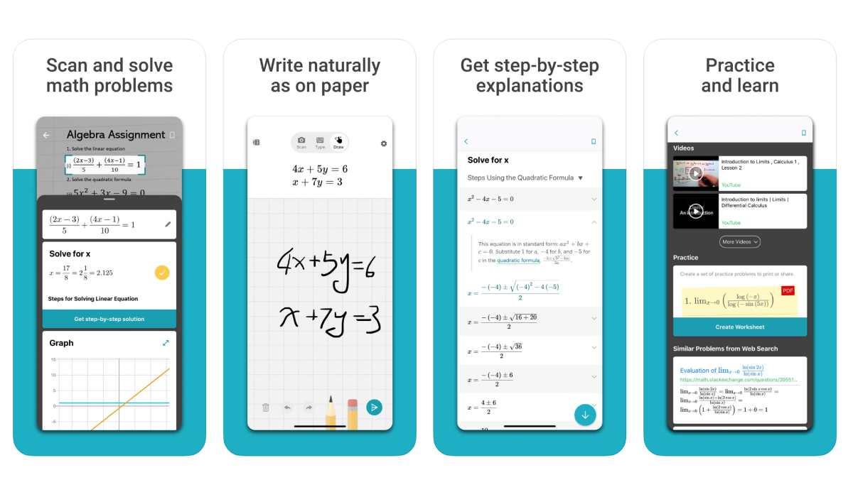 تطبيقات مايكروسوفت تطبيق حل المعادلات الرياضية