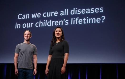 زوكربيرج وزوجته يعلنان عن مبادرة علمية لإيجاد علاج لجميع الأمراض