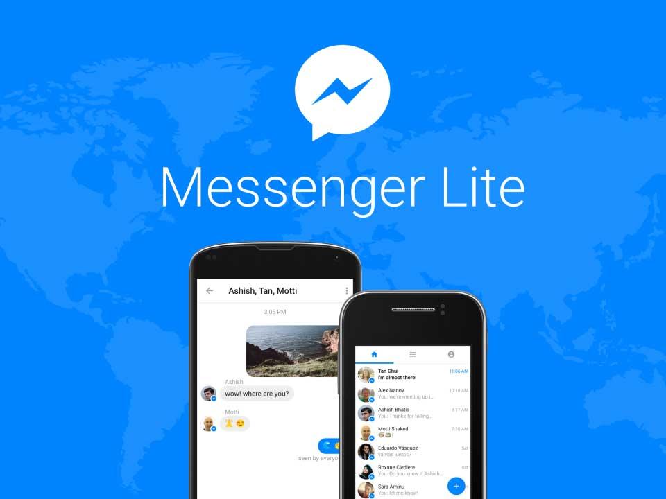 Messenger Lite: نسخة أخف وأقل استهلاكا للبيانات من فيس بوك ماسنجر