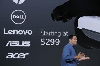 مايكروسوفت تكشف عن نظارات VR متوافقة مع ويندوز 10