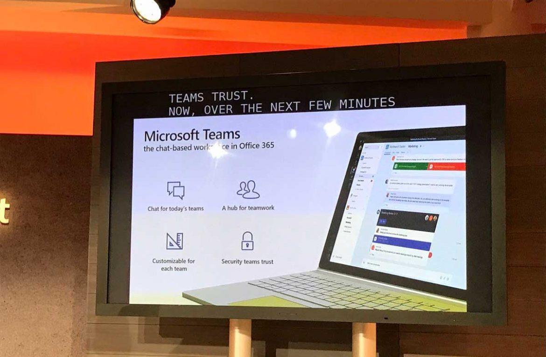 "Microsoft Teams: خدمة جديدة من مايكروسوفت منافسة لـ ""Slack"""