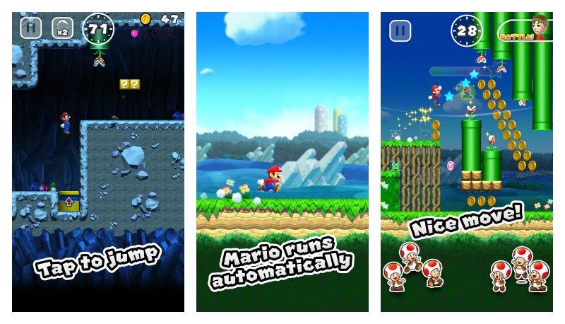 Super Mario Run تتطلب الإتصال بالإنترنت للتمكن من اللعب