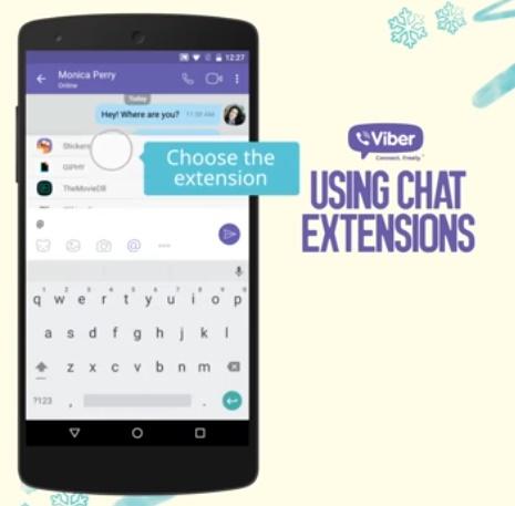 يوفر Viber التكامل الآن مع الخدمات الخارجية