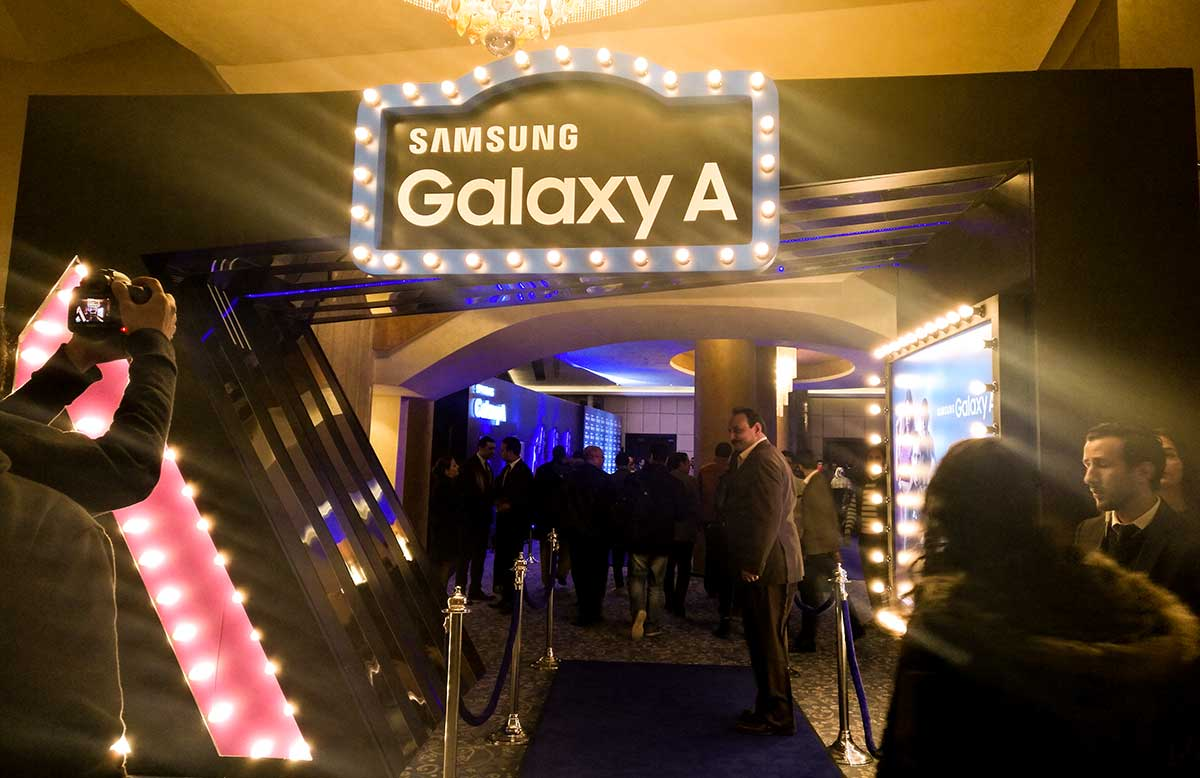 سامسونج تطلق رسميا سلسلة هواتف جالاكسي A 2017 في مصر - صدى التقنية