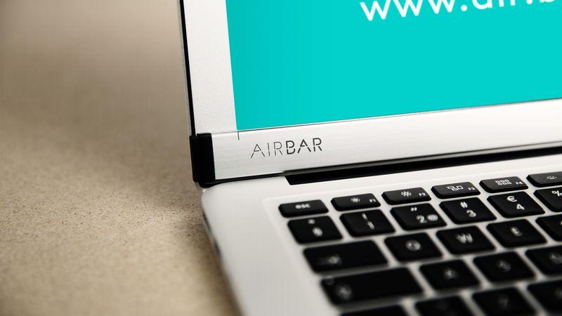 AirBar تحول شاشة ماك بوك لشاشة لمسية بسعر 99 دولار فقط